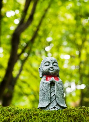 Ojizo-sama in Forest